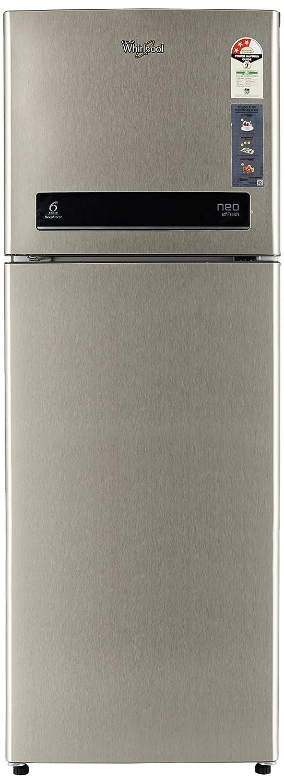 Whirlpool 265 L 3 Star Frost-Free Double Door Refrigerator (NEO DF278 PRM REAL STEEL(3S), Real Steel)