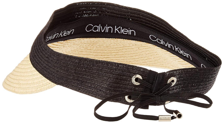 Calvin Klein - Visera para Mujer - Beige - Talla única: Amazon.es ...