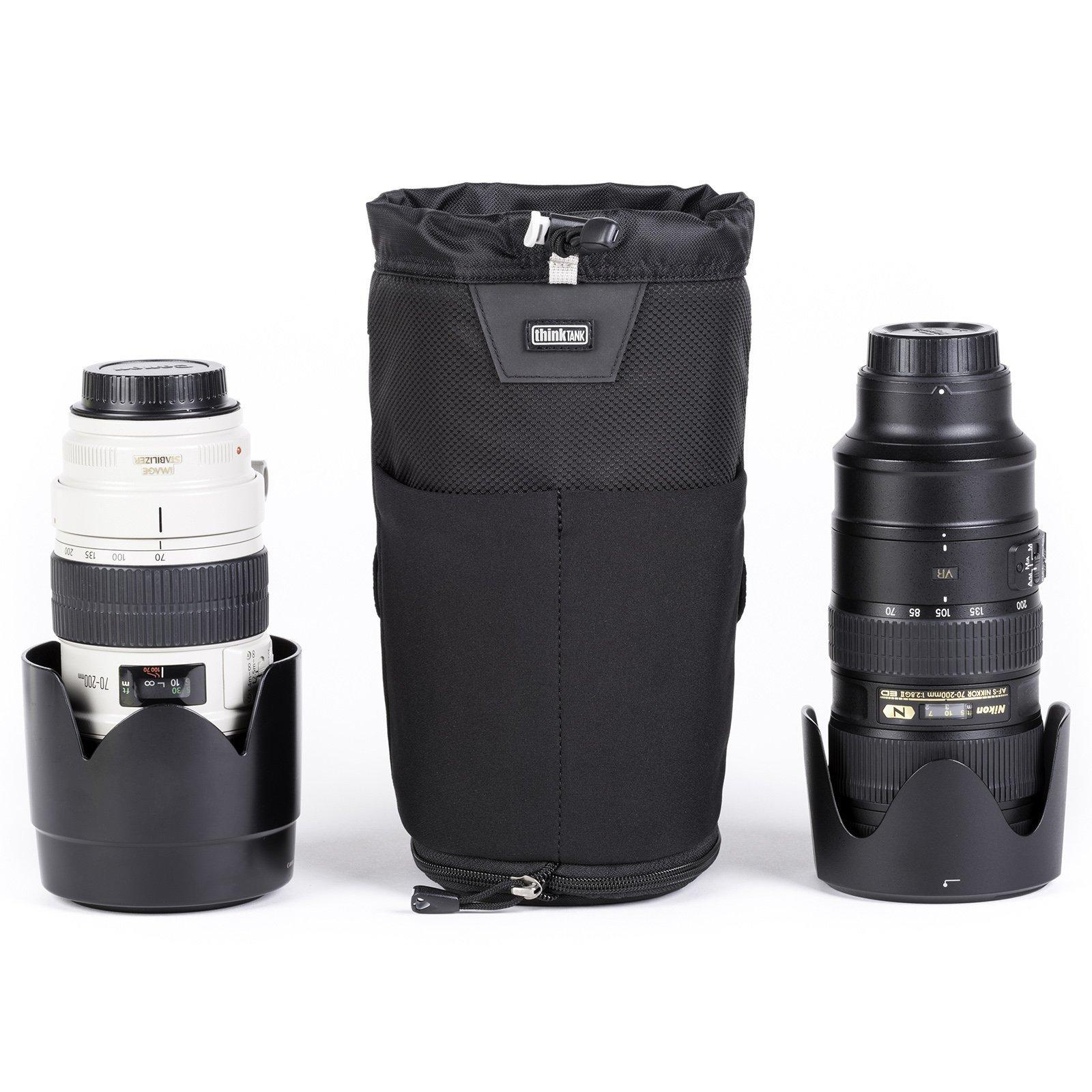 Think Tank Photo Lens Changer 75 Pop Down V3.0 Lens Case (Black) by Think Tank