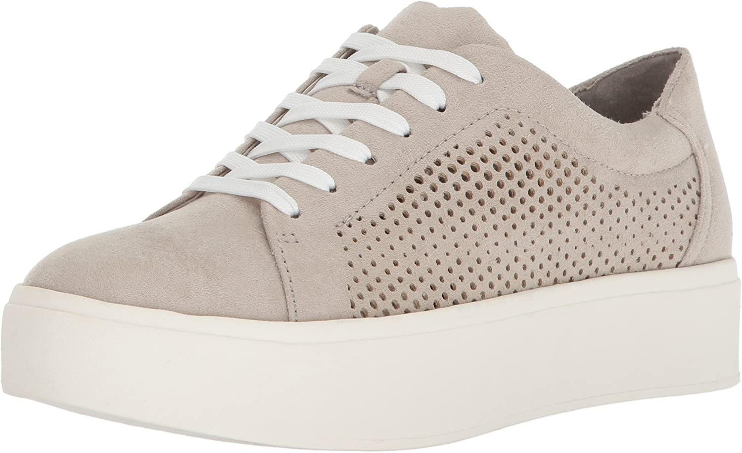 dr scholl's white platform sneakers