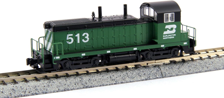 Kato USA Model Train Products EMD NW2#513 Burlington Northern N Scale Train