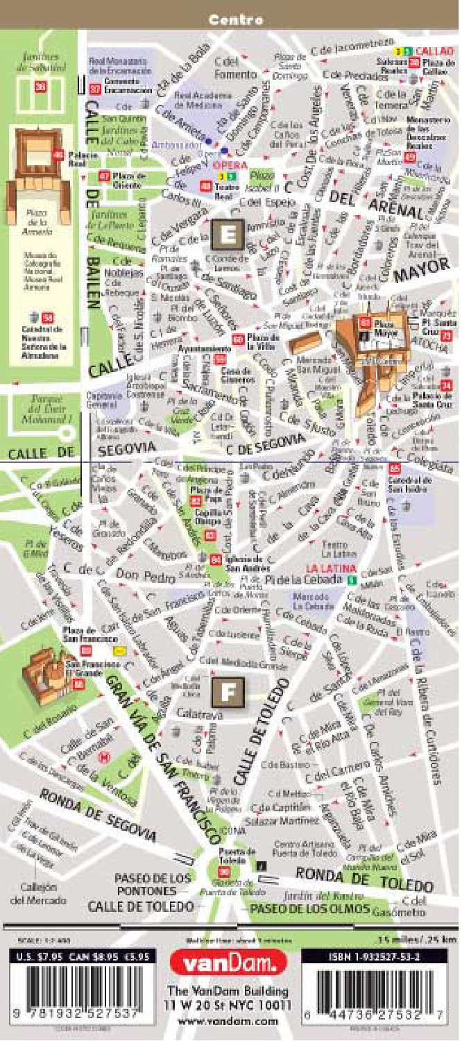 Streetsmart Madrid Map by Vandam: Amazon.es: Stephan Van Dam: Libros en idiomas extranjeros