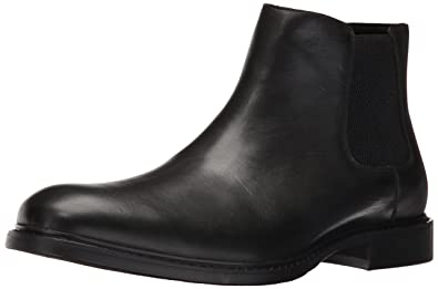 Kenneth Cole New York Mens Grand Scale Chelsea Boot, Black, ...