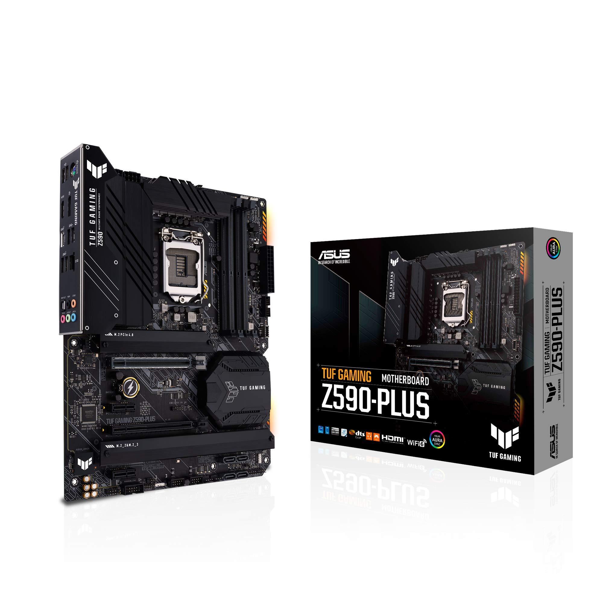 ASUS TUF Gaming Z590-Plus, LGA 1200 (Intel11th/10th Gen) ATX