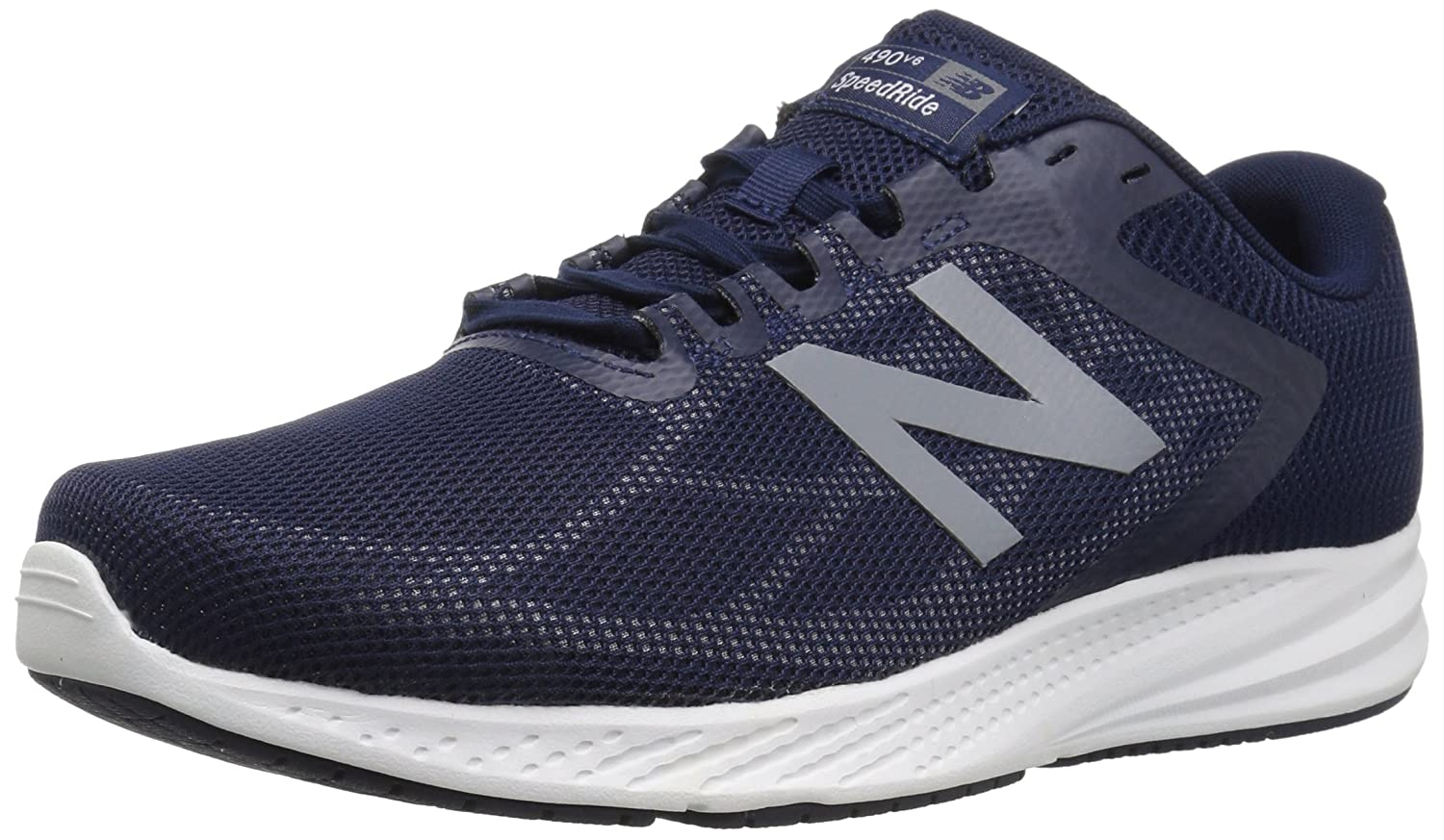New Balance Men's 490v6 Cushioning Running Shoe B075R7CFJ2 8 XW US|Navy