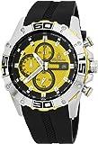 Burgmeister - BM535-192 - Montre Homme - Quartz - Analogique - Chronographe - Bracelet Silicone noir
