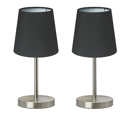 de Paquete 2 mesa noche lámpara de de Lámpara lámpara Trango qMVSUpz