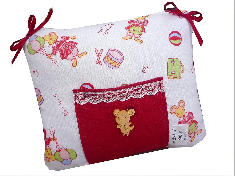 Cadeau enfant - Coussin pour dent de lait - SOURIS Sackcloth Sally