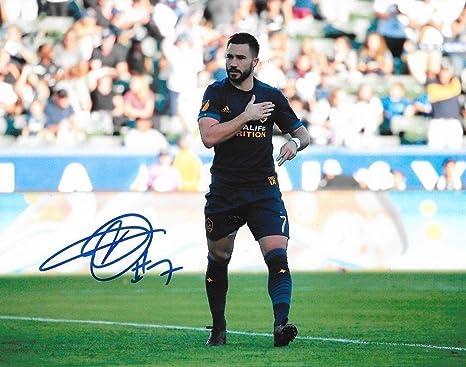 8aea0c1408d Image Unavailable. Image not available for. Color: Autographed Romain  Alessandrini Photo - LA 8x10 MLS - Autographed Soccer Photos