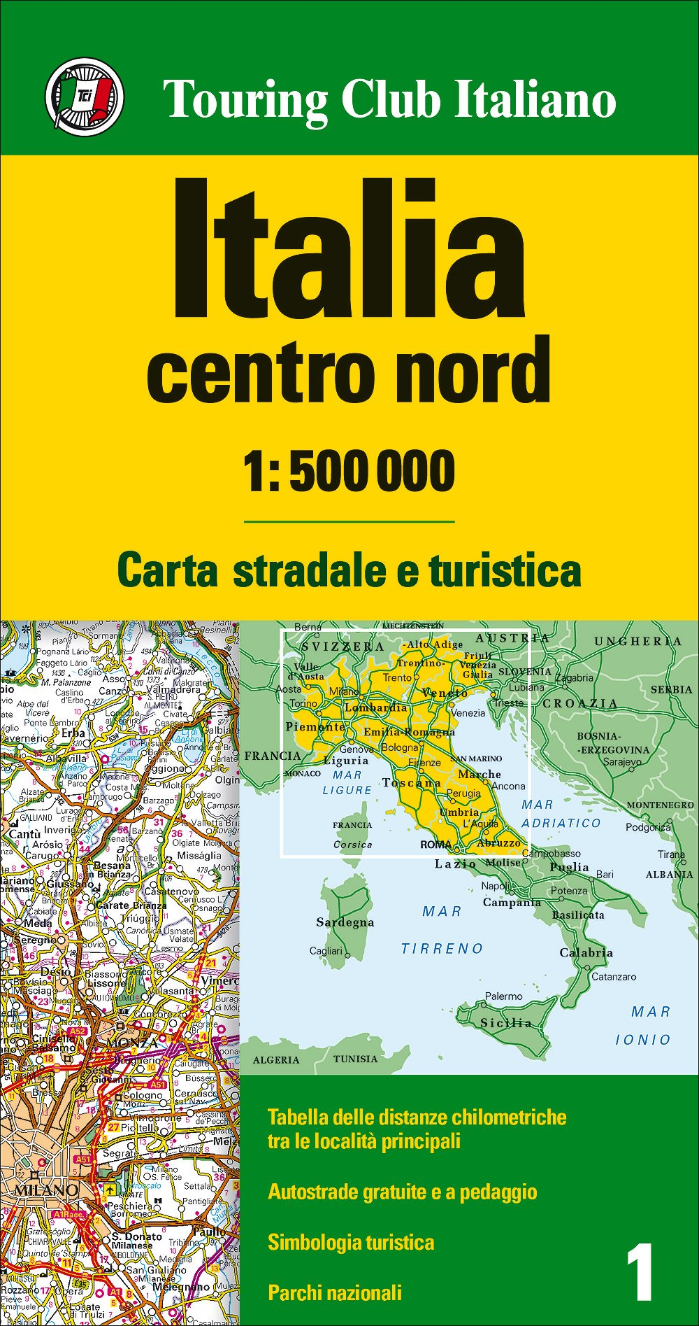 Cartina Nord Italia Google Maps.Amazon It Italia Centro Nord 1 500 000 Carta Stradale E Turistica Aa Vv Libri