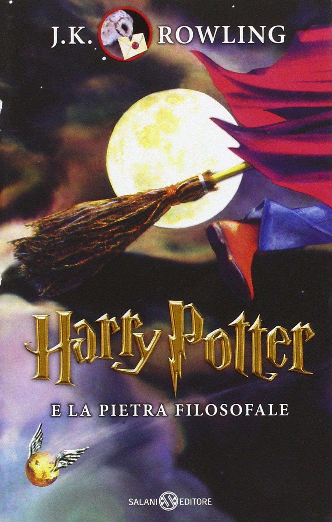 Harry Potter e la pietra filosofale: 1 Harry Potter Italian ...