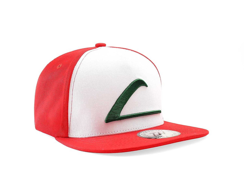 Snapback - Gorra de béisbol de Ash Ketchum Pokemon Go: Amazon.es ...