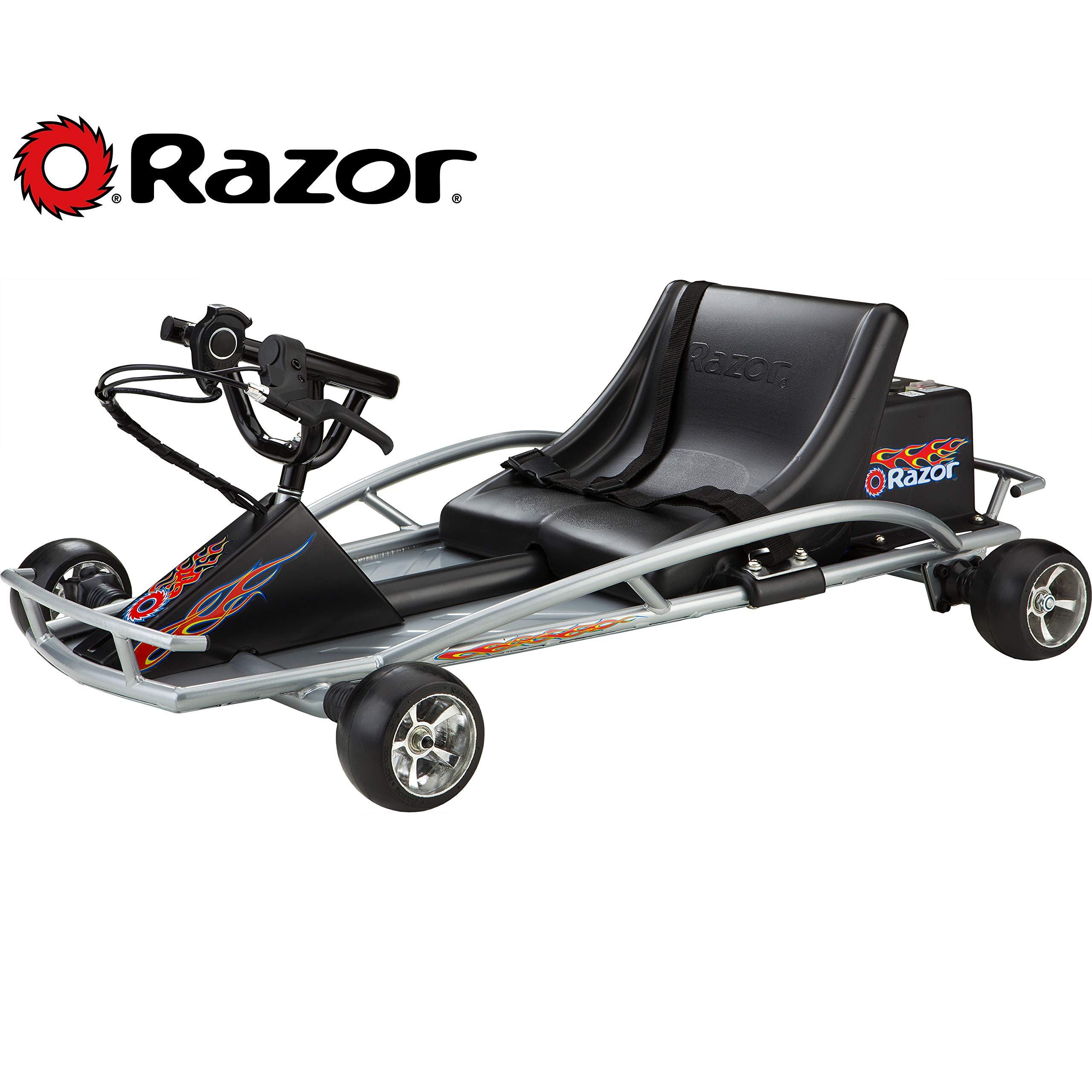 Razor Ground Force Electric Go-Kart (Silver) by Razor