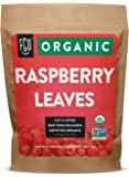 Organic Red Raspberry Leaf | Herbal Tea (200+ Cups) | Cut & Sifted Leaves | 16oz Resealable Kraft Bag (1lb) | 100% Raw…