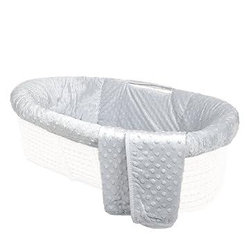 Tadpoles Damask Moses Basket Bedding Only Black//White