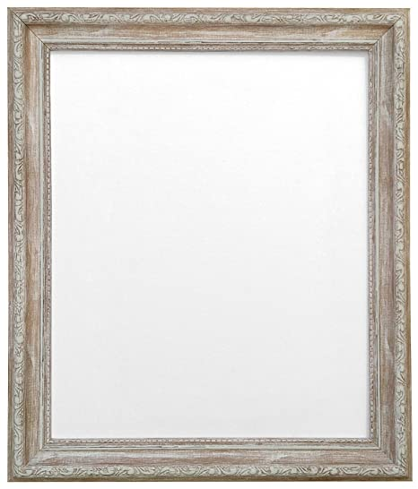FRAMES BY POST Shabby Chic Picture Photo Frame, Plastic Glass ...