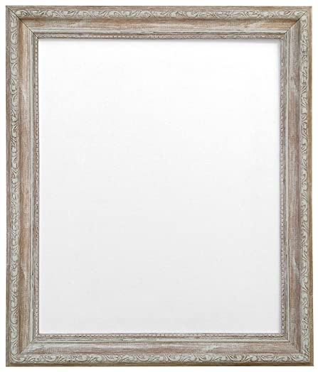 frames by post shabby chic picture photo frame distressed wood 70 x 50 cm - Distressed Wood Frames
