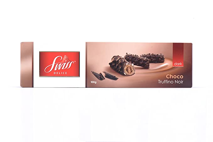 Truffino Barquillo Avellana Y Chocolate Swiss Delice 100 G