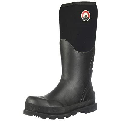 "Irish Setter Men's 89002 15"" Steel Toe Rubber Boot: Shoes"