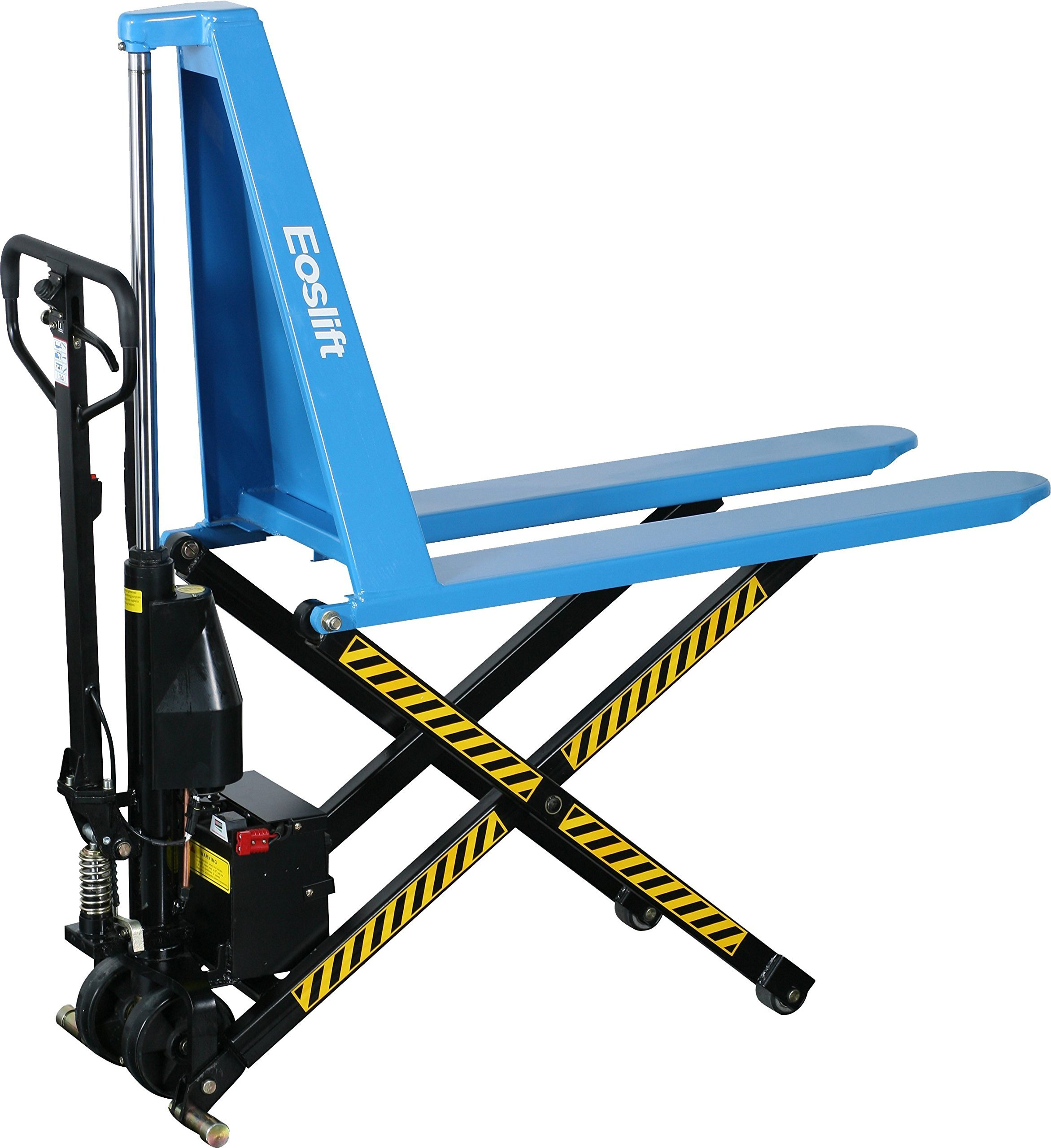 Eoslift I10E Electric Scissor High Lift Pallet Jack Truck, 2200 lb. by Eoslift