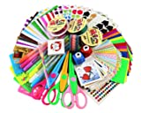 SICOHOME Scrapbooking Supplies,Scrapbook Kit for