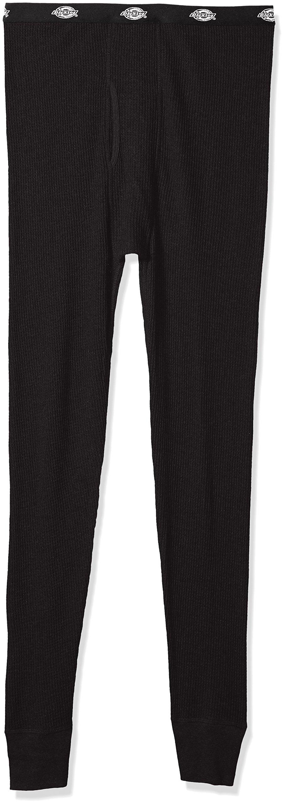 Dickies Men's Big Classic Thermal Waffle Pant, Black, Medium/Tall by Dickies