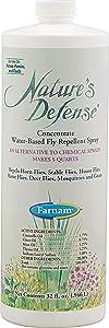 Farnam Nature's Defense Concentrate Botanical Fly Repellent, 32 fl. oz.
