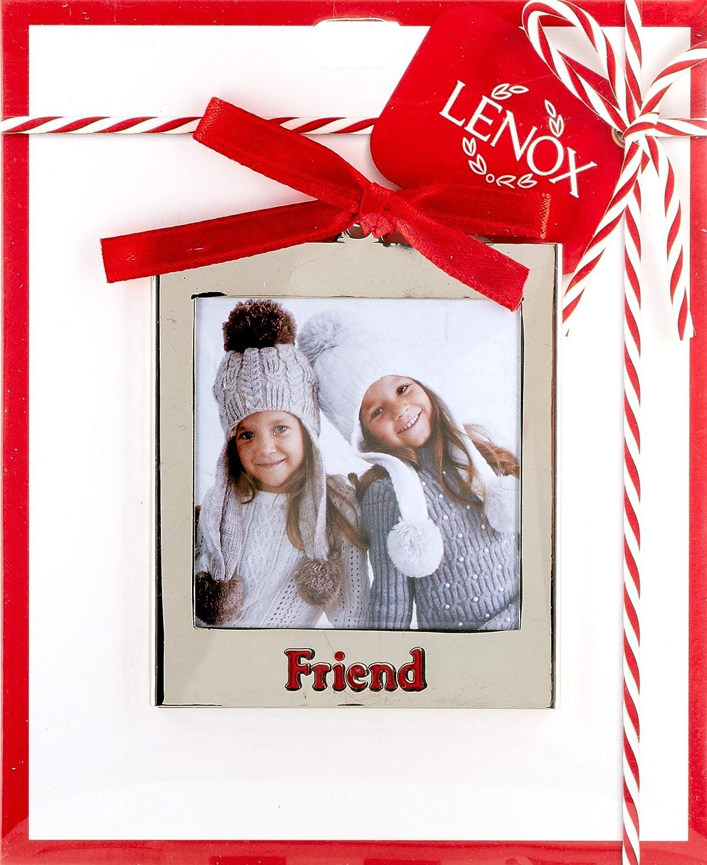 Lenox Silver Ornaments Woof Frame