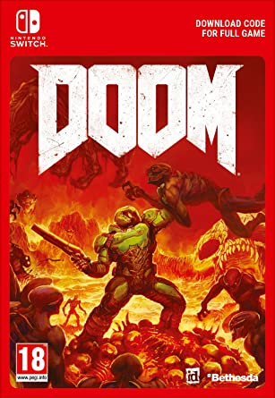 Doom | Switch - Download Code: Amazon co uk: PC & Video Games