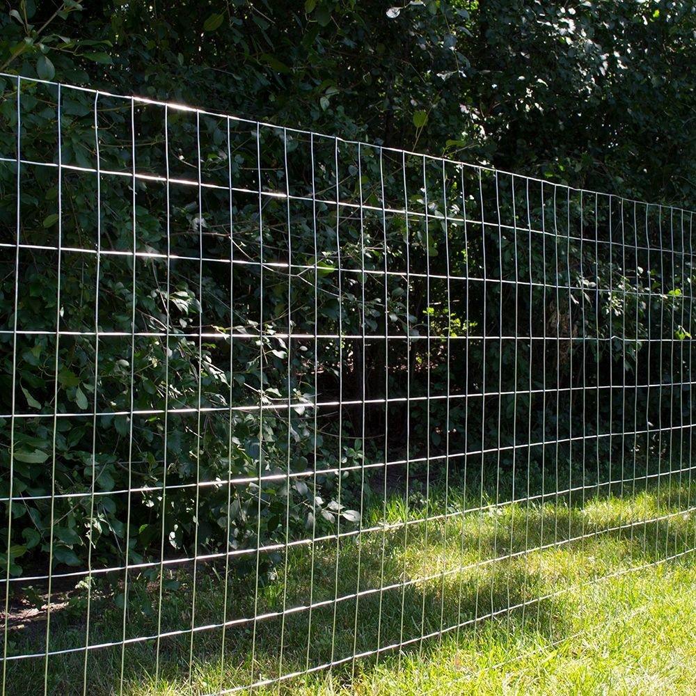 4 Ft X 50 Ft 14 Gauge Galvanized Steel Welded Wire Amazon Com Industrial Scientific