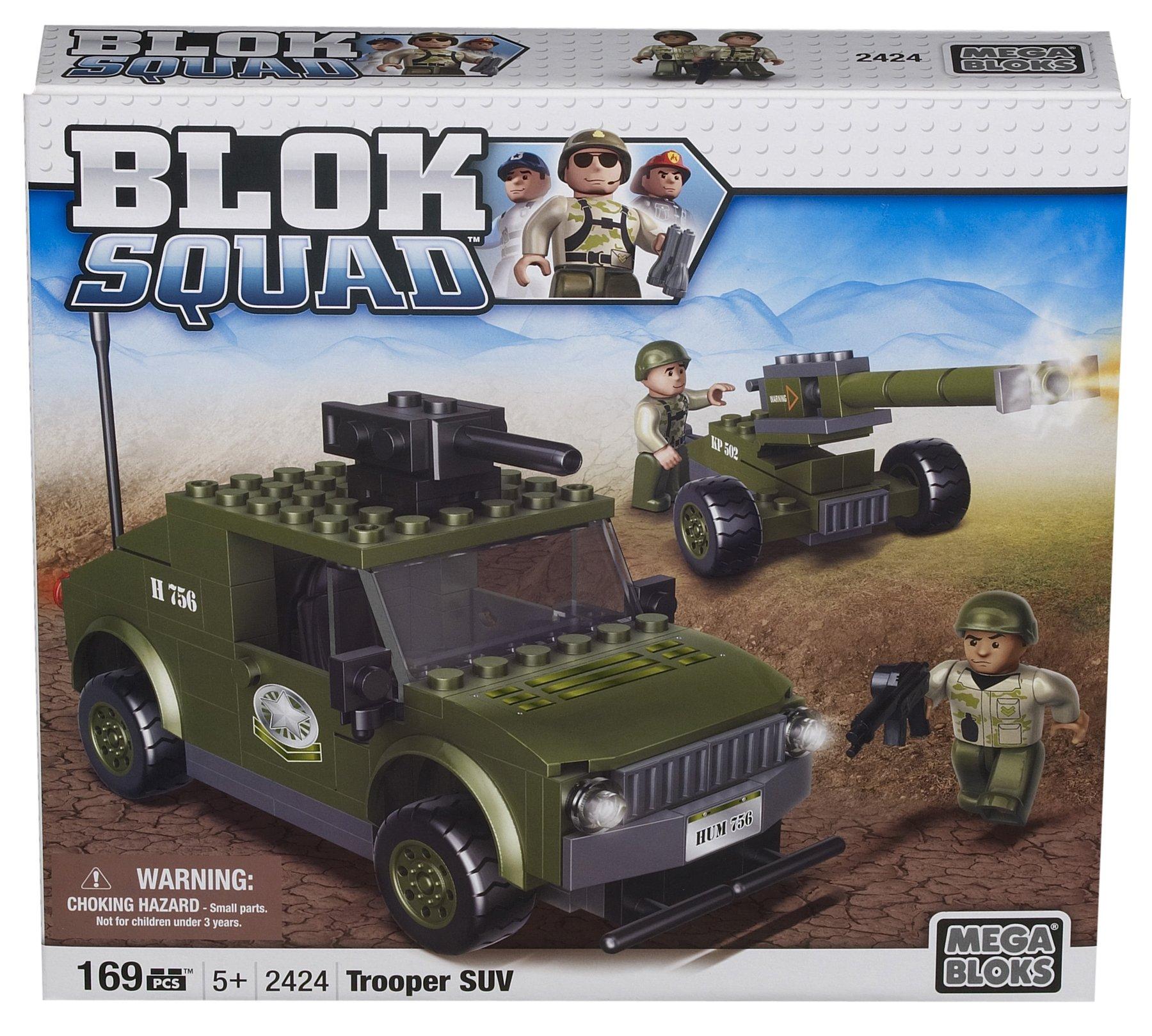 Megabloks Blok Squad Army Trooper SUV