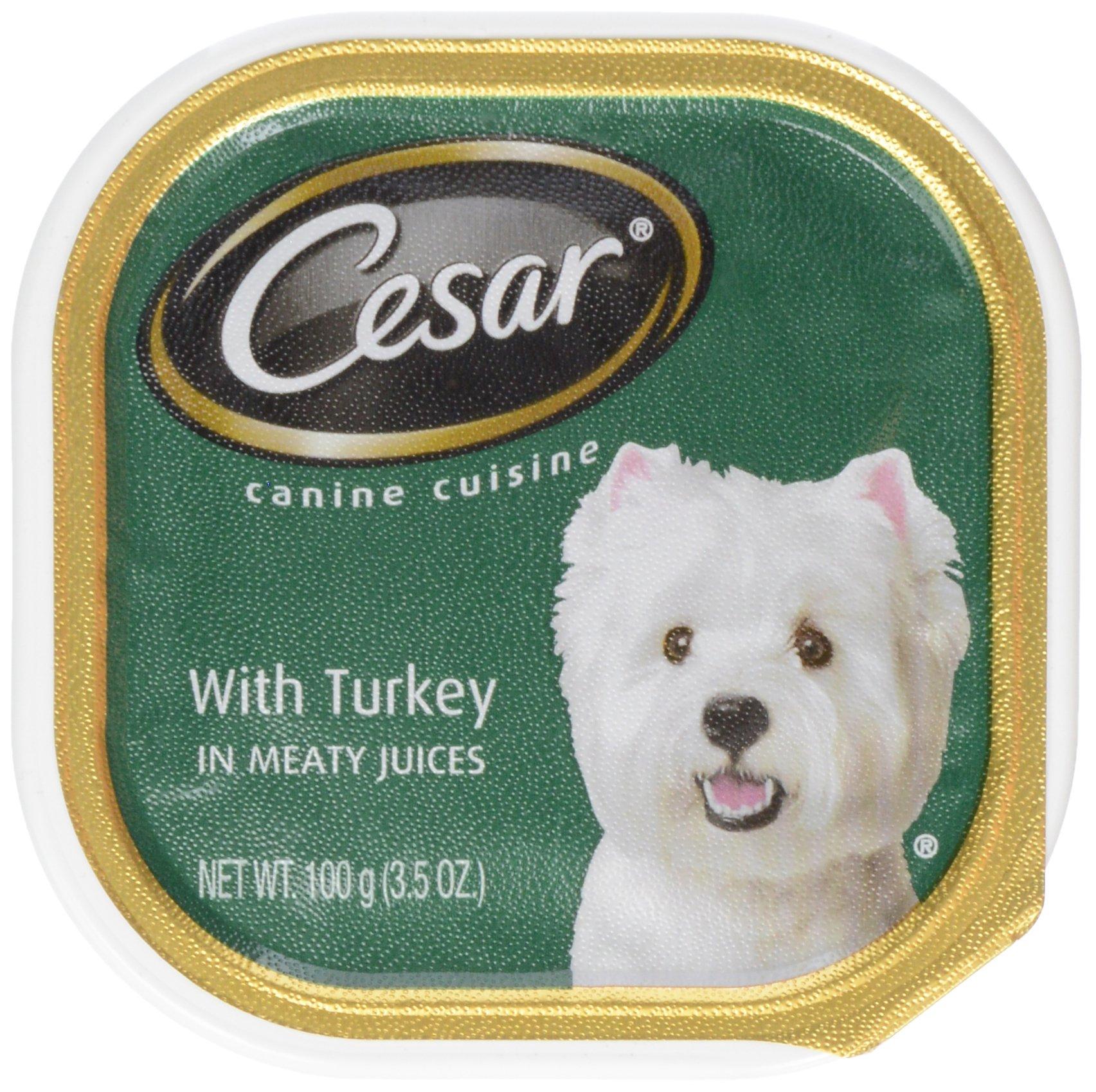 Dogswell Mars Cesar Cuisine Turkey 3.5 oz, One Size