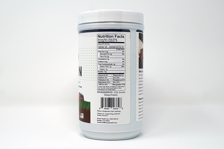 Evo Hemp U.S. Hemp 45% Protein Powder (1 Pound): Amazon.com: Grocery & Gourmet Food
