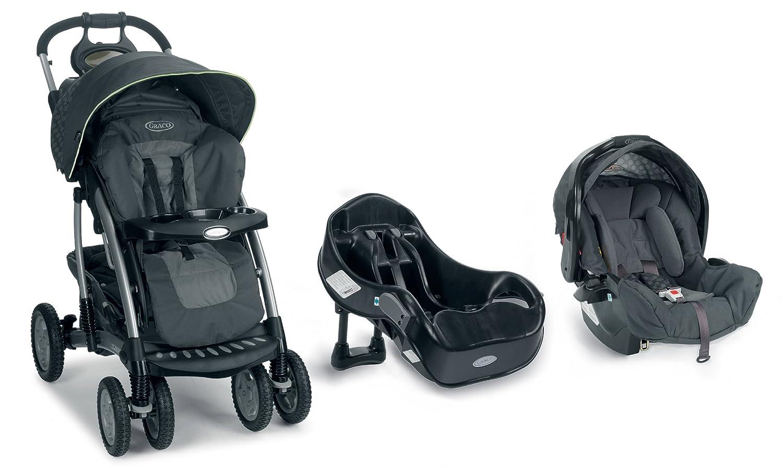 Graco Quattro Tour Deluxe Carrito de bebé gris Air: Amazon ...