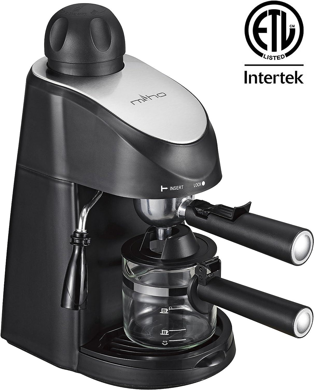 Amazon.com: Miho CM-01A - Cafetera de espresso (3,5 bares ...