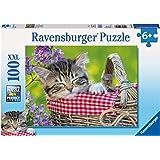 Ravensburger Sleeping Kitten Puzzle (100 Piece)