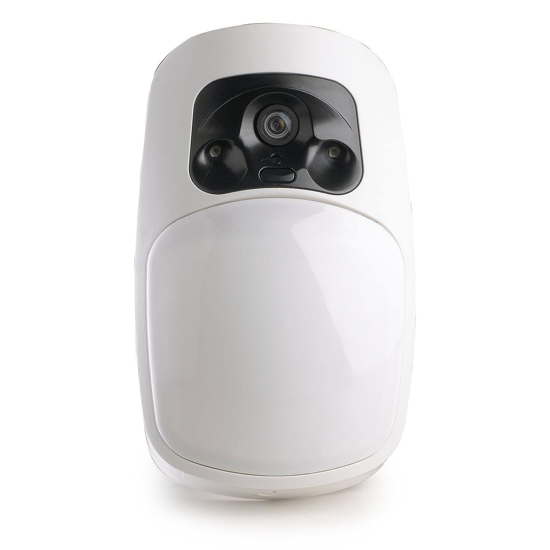 Delta Dore 6412287 DMBV Tyxal+ Détecteur de mouvement bi-lentille vidéo radio détection par infrarouge