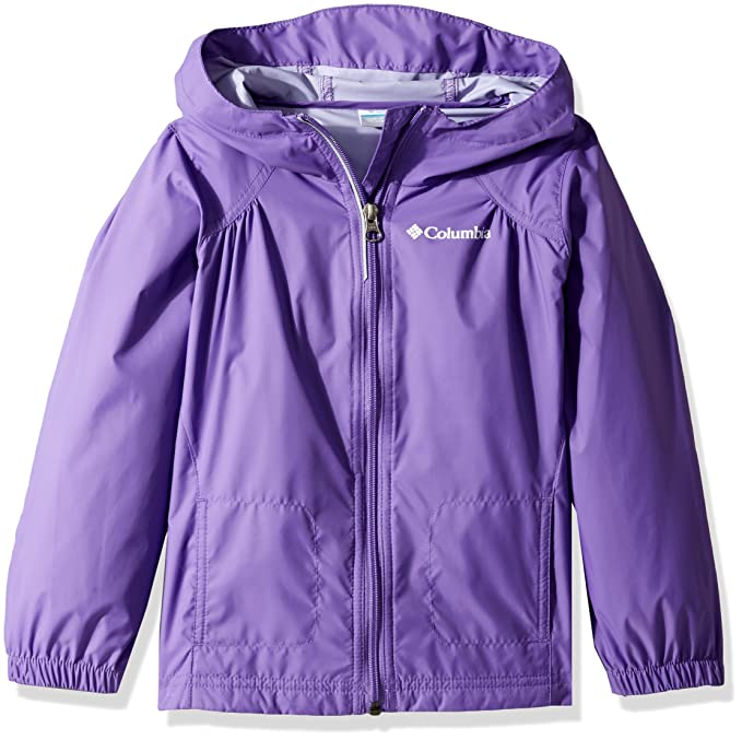 "465e9aa6b944 Great price on the Columbia Youth Girls' Switchback Rain Jacket, Waterproof  & Breathable in the ""Pink Ice"" color, sizes 2T, 3T and 4T and in the ""Grape  Gum"" ..."