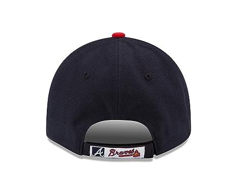 fceb27b9399 Amazon.com   MLB Atlanta Braves Youth The League 9Forty Adjustable ...