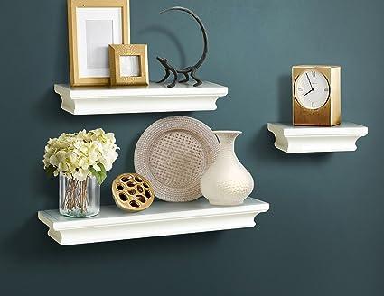 Ahdecor mensole galleggianti decorative mensole a muro in legno