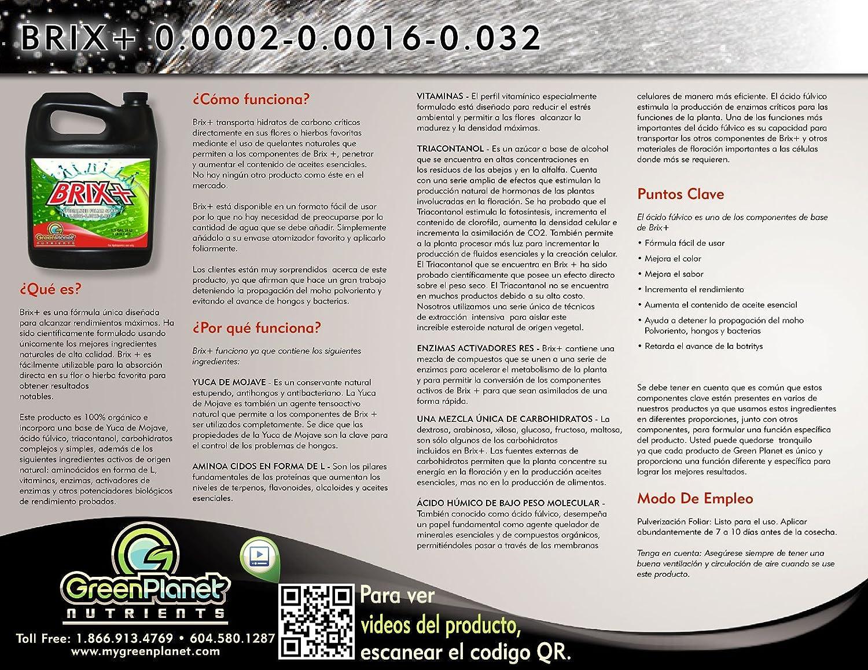 Planeta verde nutrientes - Brix Plus (24 litros) - especializados ...