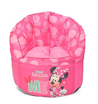 Disney esJuguetes Minnie SillaAmazon Y Mouse Puf Juegos 345jLARq
