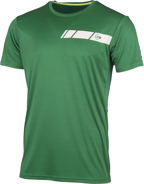 Dunlop 71335 Camiseta, Mens, Verde, XXXL