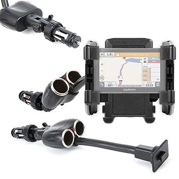 DURAGADGET Soporte De Coche Flexible para GPS Garmin Drive 61 Full EU LMT-S / Garmin Camper 770 LMT-D: Amazon.es: Electrónica