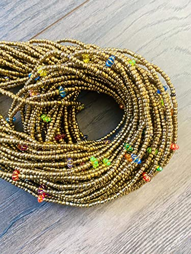 Tribal Jewelry|Multiple Colors Available SOLID COLOR Waist Beads for weight loss Africa Waist Beads TIE On Waist Beads