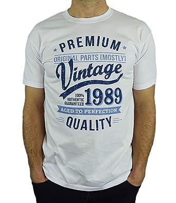1989 Vintage Year - Aged To Perfection - 30 Ans Anniversaire Homme Cadeaux T -Shirt  Amazon.fr  Vêtements et accessoires 801a742467a