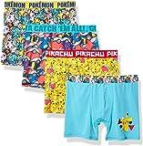 Pokemon Boys BABP8920 Athletic Boxer Brief Underwear - Multi