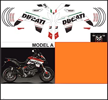 Kit Adesivi Decal Stikers Ducati Multistrada 950 2017