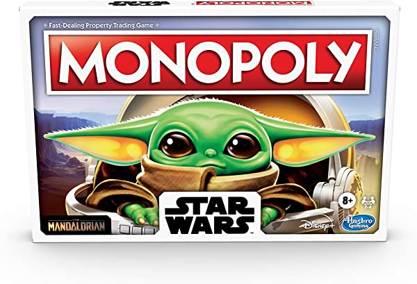 Monopoly: Star Wars The Mandalorian The Child Edition board game for kids