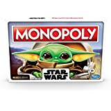 Monopoly - Star Wars The Child Edition Board Game - Featuring Baby Yoda - 2 to 4 Players - Family Board Games - Ages 8+